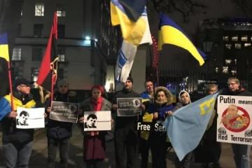 Celebran un flashmob en apoyo de Súshchenko (Fotos)