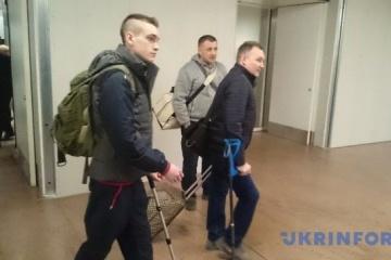 Six militaires ukrainiens blessés seront soignés dans un hôpital belge