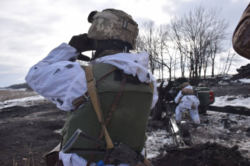 Russian-led forces launch 12 attacks on Ukrainian troops in Donbas