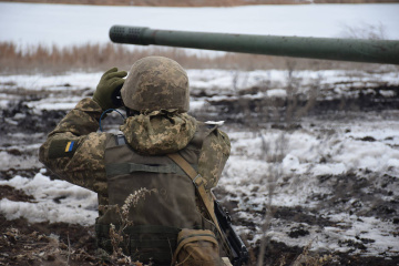 Russian-backed militants launched ten attacks on Ukrainian troops in Donbas in last day
