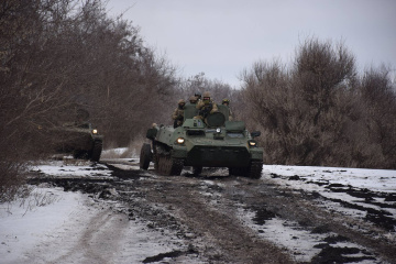 Militants launched five attacks on Ukrainian troops in Donbas in last day