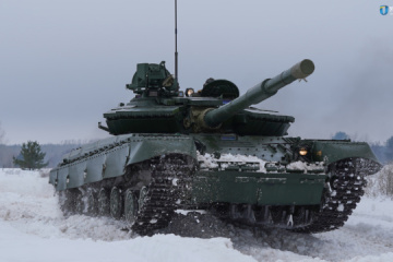 Ukroboronprom shows upgraded T-64 tanks