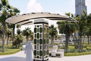 La invención ucraniana genera agua potable del aire en el parque inteligente de Dubái (Fotos, Vídeo)