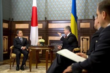 El presidente de Ucrania recibe credenciales de los embajadores de tres Estados extranjeros