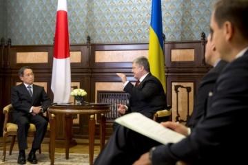 Ukrainian president receives credentials from ambassadors of Pakistan, Turkey and Japan