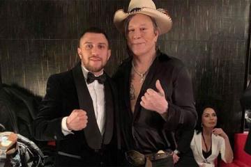Boxer Lomachenko besucht Modewoche in New York