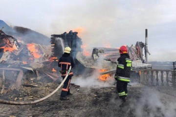 Un incendie s'est déclenché dans un monastère pour hommes dans les Carpates
