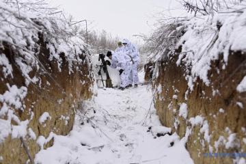 Okupanci wypuścili 30 pocisków na stanowiska Sił Zbrojnych Ukrainy pod Orichowym
