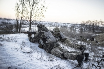 Russian-backed militants launched 12 attacks on Ukrainian troops in Donbas in last day