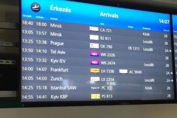 Les aéroports de Budapest et Tallinn commencent à utiliser la graphie «Kyiv» au lieu de «Kiev»