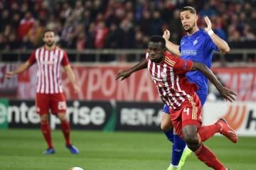 El Dynamo empata ante el Olympiacos en el primer partido de los dieciseisavos de final de la UEFA Europa League