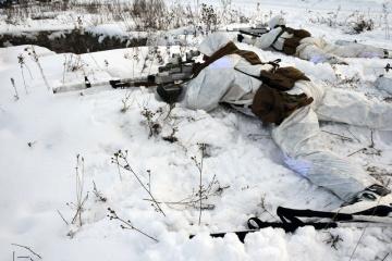 W Donbasie ostrzelano 16 razy pozycje ukraińskiej armii
