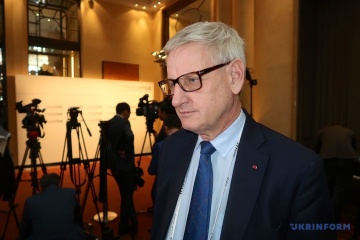 Bildt comments on Russian attack in Donbas