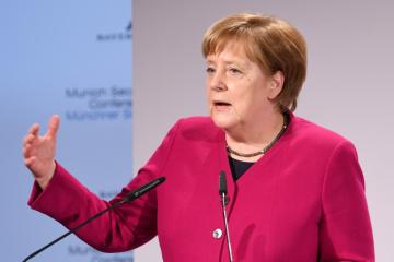 Merkel will Gastransit mit Selenskyj besprechen