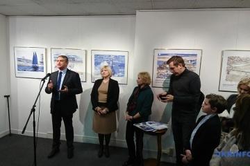 Una exposición de obras de Súshchenko se inaugura en París (Fotos)