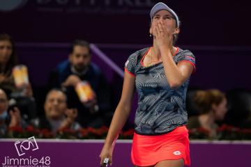 Бельгийка Мертенс победила на турнире в Дохе