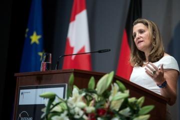Mehr als hundert kanadische Beobachter kamen in die Ukraine