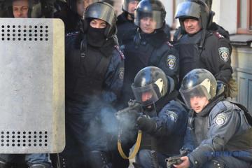Pacyfikacja Majdanu: sąd pozostawił w areszcie czterech byłych Berkutowców