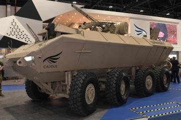 Ucrania y los EAU presentan un vehículo blindado Al-Wahash (Fotos, Vídeo)
