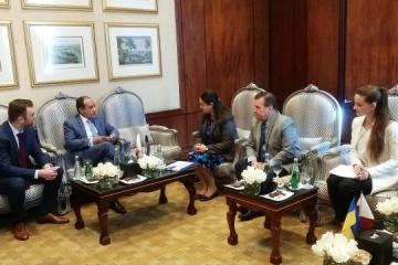 Ucrania y Qatar discuten la implementación de proyectos de infraestructura y TI