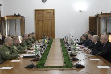 Muzhenko, US delegation discuss situation in Black Sea, Sea of Azov. Photos