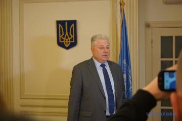 Yelchenko agradece a Kaljulaid por apoyar a Ucrania