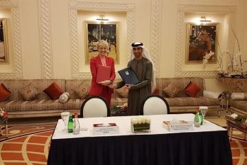 Ukraine, UAE sign memorandum of cooperation in agriculture. Photos