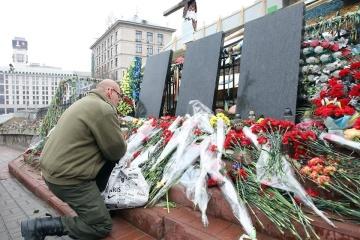 Kyiv honors Heavenly Hundred Heroes
