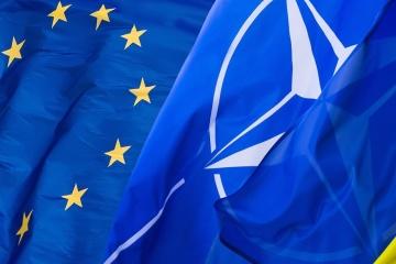 Przystąpienie do UE popiera 49% Ukraińców, a do NATO – 41%