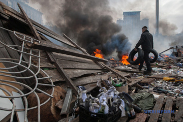 7th anniversary of Revolution of Dignity: 'truce' in fierce clashes and prayers on this day
