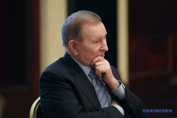 Kuchma, Herbst discuss Minsk process