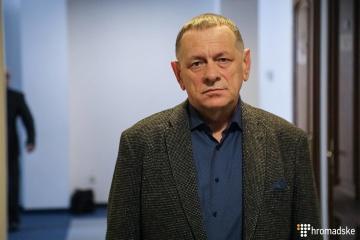 Le père de Kateryna Handziuk affirme recevoir des menaces de la part de Manger