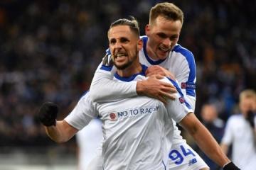 Dynamo Kyiv reaches Europa League last 16