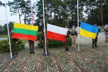 Poroschenko in Lublin eingetroffen