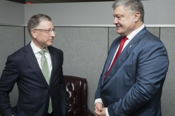Poroshenko, Volker to take part in forum on 5th anniversary of Crimea's occupation