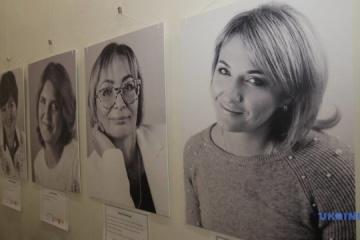 """""""听我的心声"""":在哈尔科夫展示了反恐行动参与者遗孀的照片"""