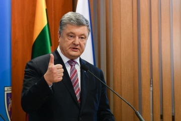 Kräftegleichgewicht zerstört: Poroschenko will mehr Präsenz der Nato-Schiffe im Schwarzen Meer