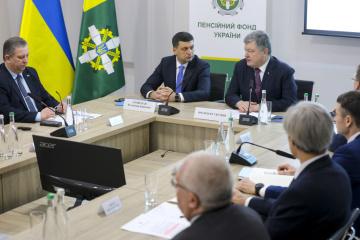 Porochenko a déclaré que l'économie de l'Ukraine s'est stabilisée