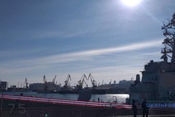 U.S. destroyer Donald Cook enters Odesa port
