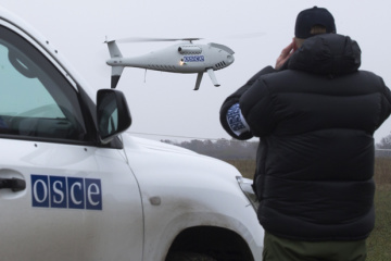 OSCE drone fired near occupied Luhansk – report