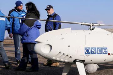 Donbass: Un drone de l'OSCE abattu par des troupes russes