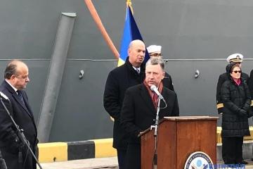 ヴォルカー米特別代表、オデーサ港訪問 露拘束の宇軍人解放を要求