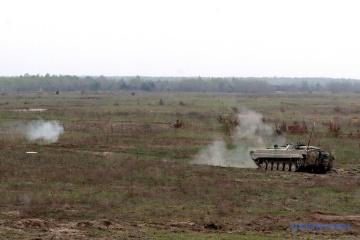 W Donbasie okupanci strzelali z systemów artyleryjskich kalibru 122 mm – jeden żołnierz jest ranny