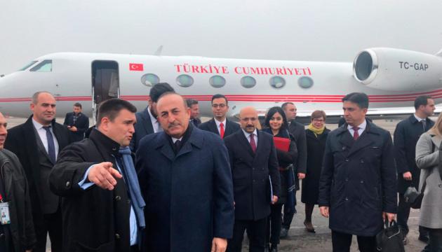 Türkischer Außenminister Çavuşoğlu beginnt Besuch in Ukraine