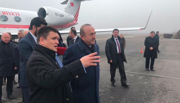 El ministro de Asuntos Exteriores turco llega a Odesa (Fotos)