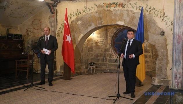 Klimkin: Ucrania y Turquía planean proteger la seguridad en la región del mar Negro en cooperación (Fotos)