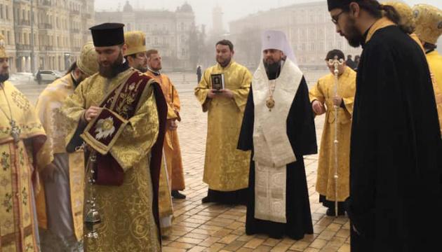 У Києві проходить інтронізація предстоятеля ПЦУ Епіфанія