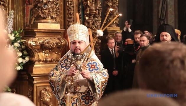 写真】キーウでウクライナ正教会のエピファニー首座主教の即位式が開催