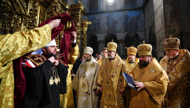 Primate of Orthodox Church of Ukraine officially enthroned