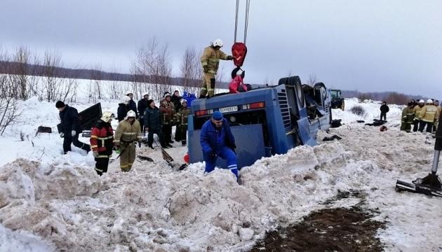 ДТП автобуса с детьми в России: семеро погибших, 32 госпитализированы